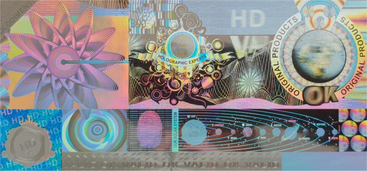Hologramm Aufkleber kaufen zum Produktschutz und Markenschutz