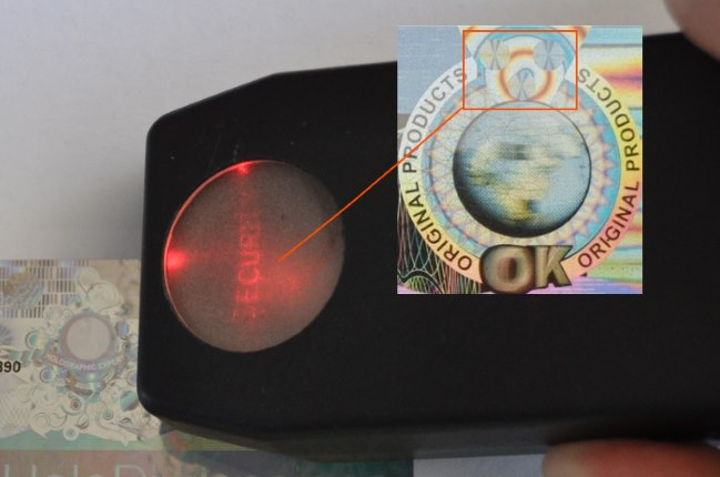 CLR Hologramm mit Security Reader kaufen