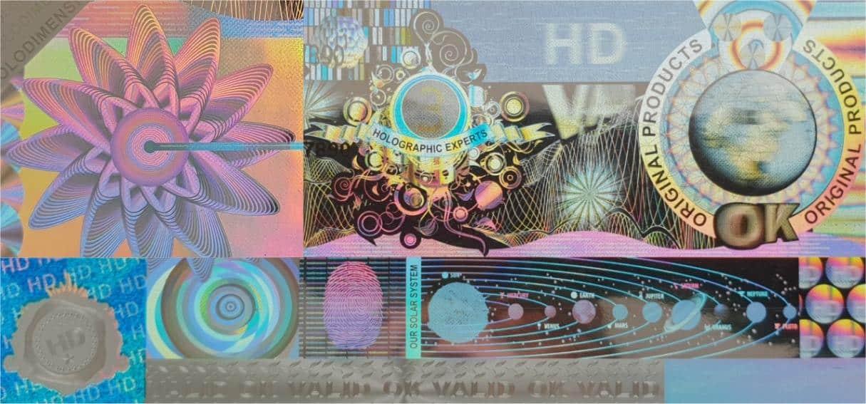 Hologramm-Etikett mit Sicherheitsmerkmalen kaufen
