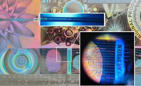 3D Hologramm Etiketten kaufen