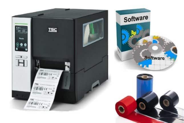 TTR Etikettendrucker und Software